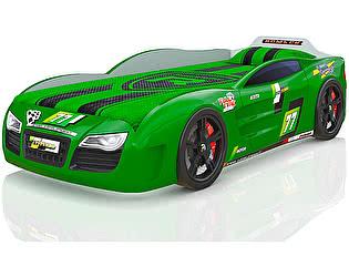 Кровать-машинка Romack Renner 2 Зеленая