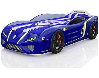 Кровать-машинка Romack SportLine Синяя