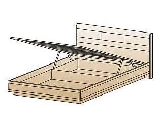 Кровать Лером КР-1801 (120) с ПМ