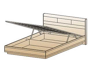 Кровать Лером КР-1803 (160) с ПМ