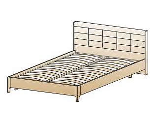 Кровать Лером КР-2072 (140)