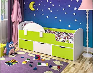 Купить кровать Ярофф чердак Малыш Мини с бортиком