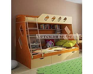 Купить кровать Фанки Кидз 16 двухъярусная