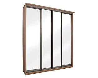 Купить шкаф Орма-мебель Элит 4х дверный купе с 4 зеркальными дверями