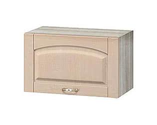 Шкаф над вытяжкой  Боровичи Трапеза массив люкс, МВ-10