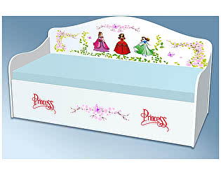 Диван - кровать Кроватка5 Принцессы