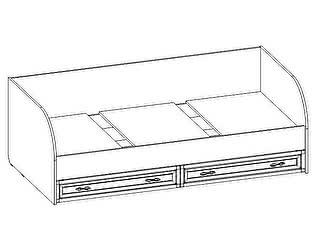 Купить кровать Santan Калипсо КР-04 (с патиной)