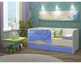 Купить кровать Регион 58 Дельфин-2 МДФ (80х160)