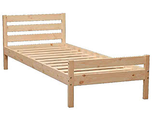 Купить кровать Аджио ЭКО-8 из массива 90/190