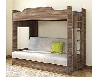 Кровать Боровичи двухъярусная с диваном (2 кат)