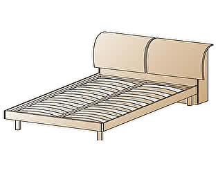 Купить кровать Лером КР-104
