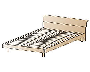 Кровать Лером КР-105