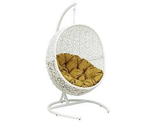 Кресло ЭкоДизайн LUNAR WHITE подвесное