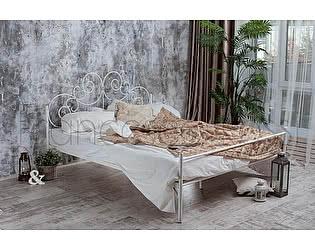 Кровать Francesco Rossi Афина 1,4 с одной спинкой цвет черный с золотом