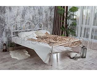 Кровать Francesco Rossi Венеция 1,4 с одной спинкой, цвет черный с золотом