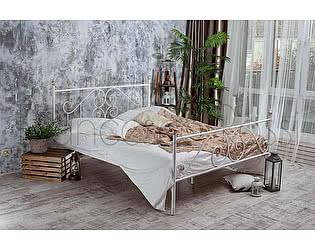 Кровать Francesco Rossi Камелия 1,6 с двумя спинками цвет черный с серебром