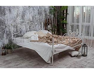 Кровать Francesco Rossi Флоренция 1,6 с двумя спинками, цвет черный с серебром