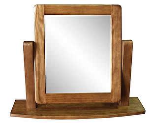 Зеркало настольное Woodmos Юта брашированное массив сосны