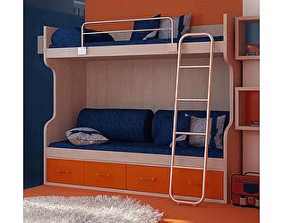 Кровать Фанки Сити (90), ФС-02 с ФС-16 и ФС-18 (акция)