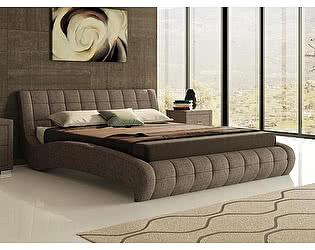 Кровать Nuvola 1 (ткань бентлей)
