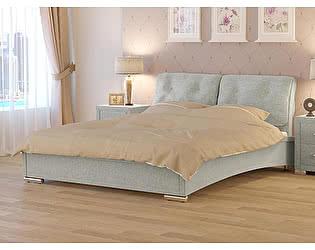 Кровать Nuvola 4 (2 подушки) ткань бентлей