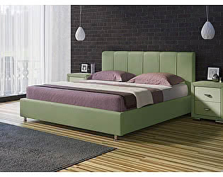 Кровать Nuvola 7 (ткань бентлей)