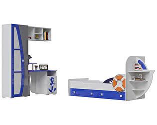 Детская мебель Мэри-Мебель Парус Комплектация 03 П-4 + П-2 + П-3 + Яхта-1