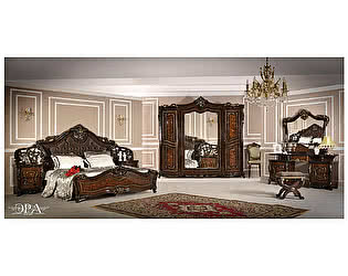 Спальня Юг-Мебель Джоконда Люкс 5 корень дуба глянец