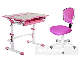 Комплект FunDesk Lavoro L pink + LST6 pink