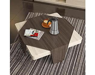 Купить стол Уфамебель СЖ-9 Дуб Пасадена + Дуб Сонома