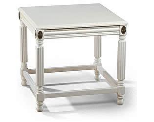 Купить стол Уфамебель квадратный арт 722, цвет слоновая кость