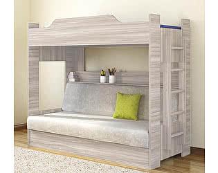 Купить кровать Боровичи-мебель двухъярусная с диваном (1 кат)