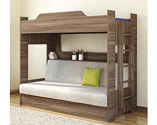 Кровать Боровичи двухъярусная с диваном (1 кат)