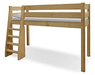 Купить кровать ВМК-Шале Маугли (sale) чердак, лестница слева