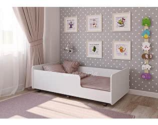 Кровать выдвижная Легенда 24 белый