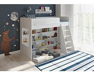 Кровать-чердак Легенда 26.1 белый