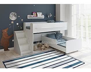 Кровать Легенда 23.4 белый