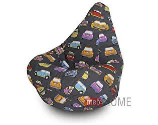 Кресло Dreambag Груша L, жаккард премиум