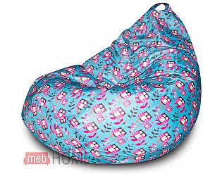Кресло Dreambag Груша XL, оксфорд принт (совы)