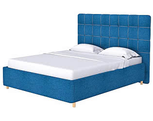 Кровать Leon (ткань/экокожа)