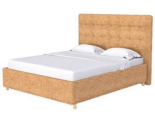 Кровать Leon (ткань бентлей/экокожа)