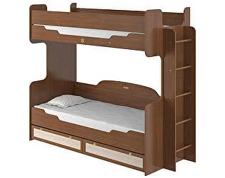 Кровать двухъярусная Робинзон (80), ИД 01.164а