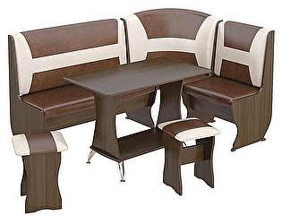 Кухонный уголок ТриЯ Уют-3 Люкс, арт. МФ-101.002 со столом