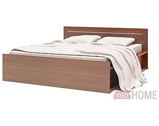 Кровать Сокол К-1 испанский орех