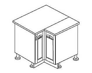 МН 18 Стол угловой правый