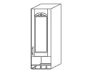 МВ 1 Шкаф с нишей