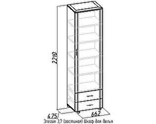 Шкаф для белья 3,7 Элегия Глазов