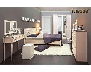 Спальня Глазов Montpellier, комплектация 1