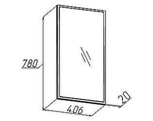 Hyper (прихожая) Зеркало навесное 1