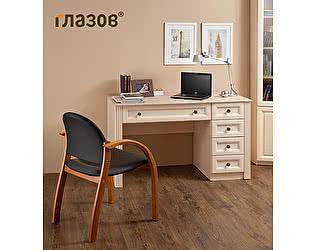 Стол письменный 1 Глазов Montpellier (дуб млечный)